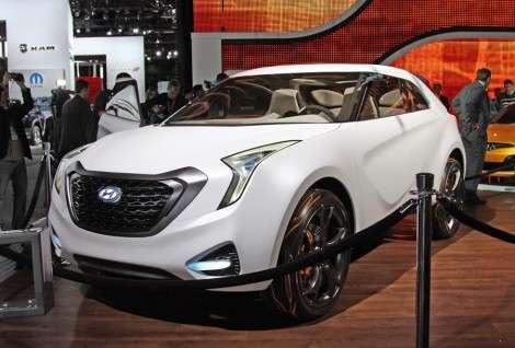 Детройт 2011: Клубный Hyundai Curb