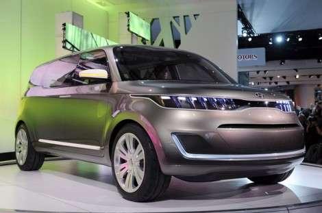 Детройт 2011: Kia становится «на крыло»