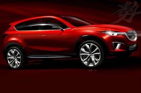 Концепт CX-5 будет представлен в Женеве