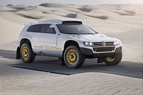 Volkswagen «упростил» гоночный Touareg