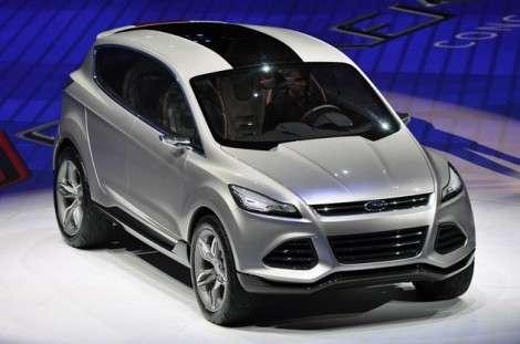 Детройт 2011: Ford продемонстрировала прототип кроссовера Kuga