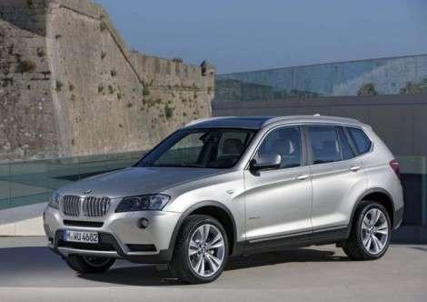 Выходит новая модификация BMW X3 с дизельным V6