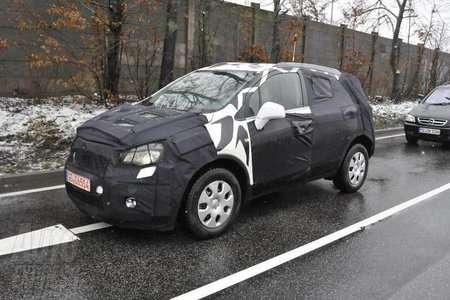 Chevrolet Aveo с полным приводом приступил к испытаниям на трассе