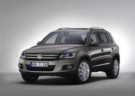 Рестайлинговый VW Tiguan получит три новых мотора