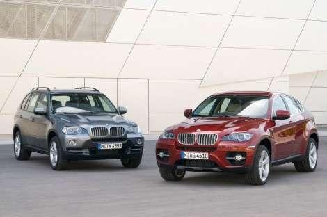 Список опций BMW X6 и X5 расширяется