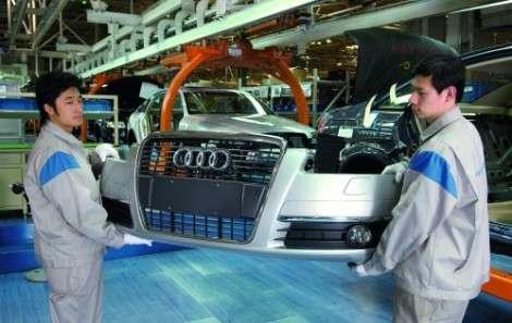 Audi ориентируется на Китай