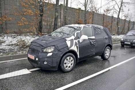 Opel нала испытание компактного кроссовера