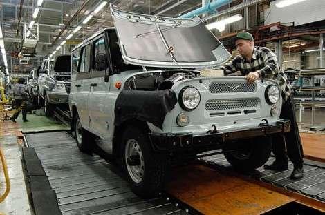 «УАЗы» подорожают из-за цен на сталь