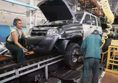 «УАЗ» остановит производство на 2 недели