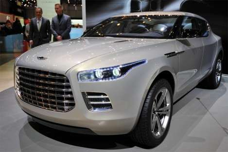 Aston Martin твердо решил возродить бренд Lagonda