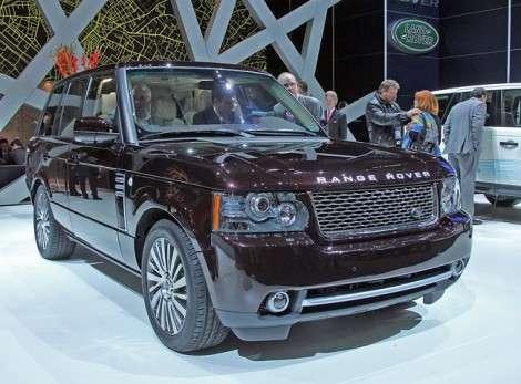 Женева 2011: Range Rover как символ роскоши