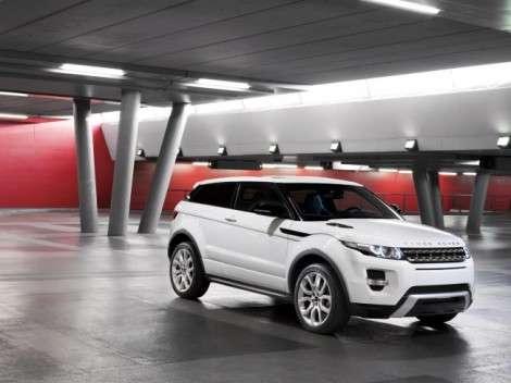 Кроссовер Range Rover Evoque получил рублевый ценник