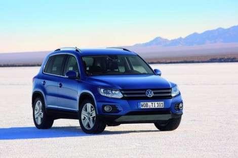 Новый VW Tiguan появится в России летом