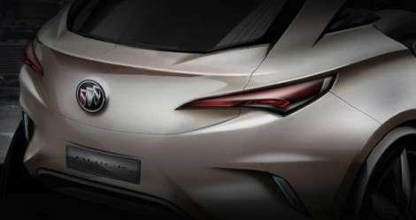 Первое фото кроссовера Buick появилось в сети