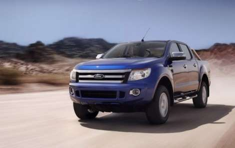 Ford продемонстрировал способности пикапа Ranger