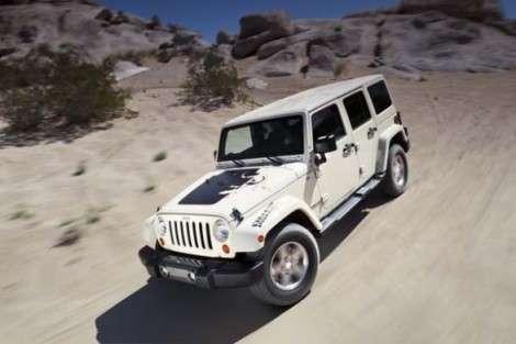 Нью-Йорк 2011: Jeep в честь пустыни