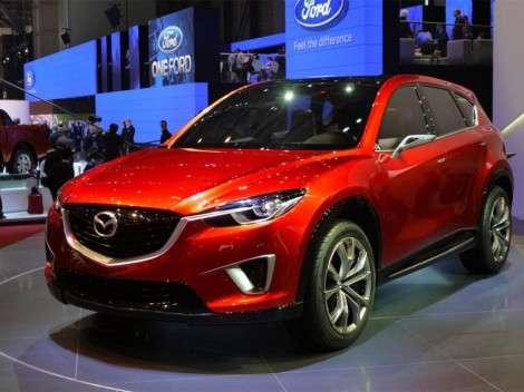 Новый кроссовер Mazda станет CX-5