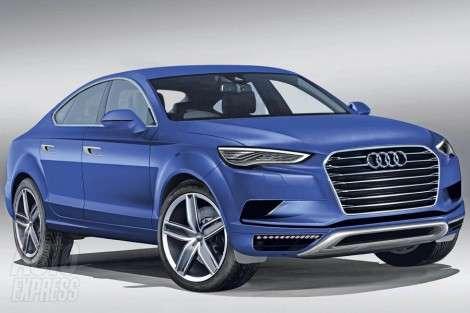 Первый взгляд на внедорожное купе от Audi