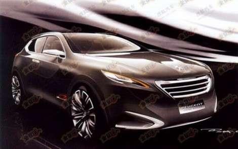 Маленький Peugeot презентуют в Шанхае