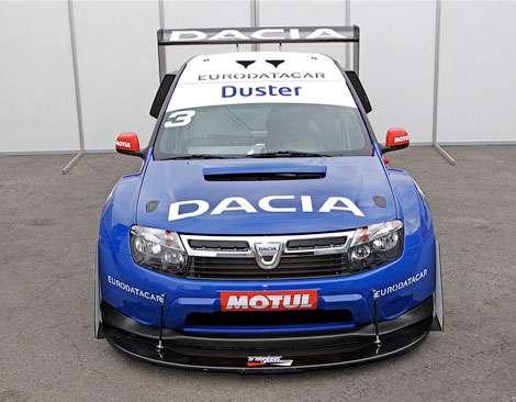 Dacia рассекретила гоночный Duster
