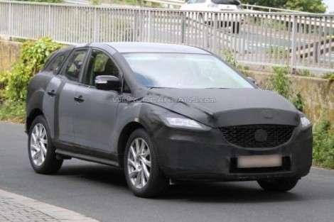 Mazda тестирует CX-5