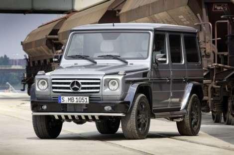 Mercedes-Benz «финализирует» G-класс