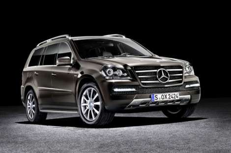Mercedes-Benz ???????????? ????????? ??????????? GL-?lass Grand Edition
