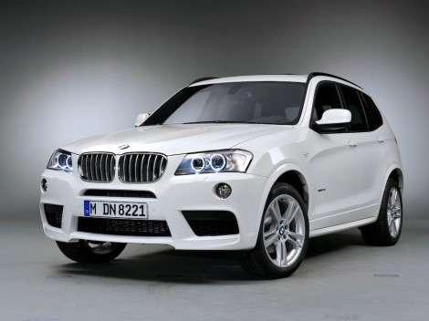 Самый мощный кроссовер BMW X3 будет оснащаться мотором с тремя турбинами