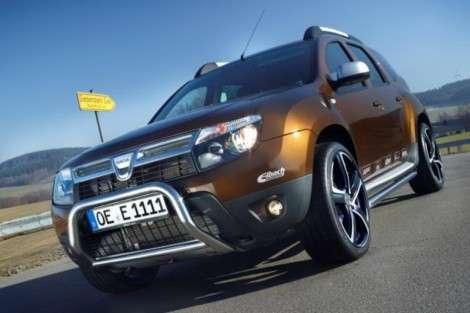 Благородно-внедорожный Dacia Duster