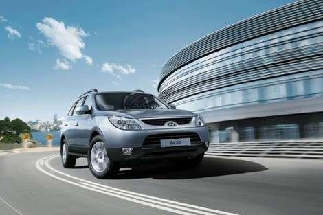 Hyundai ix55 появился в более дешевых комплектациях