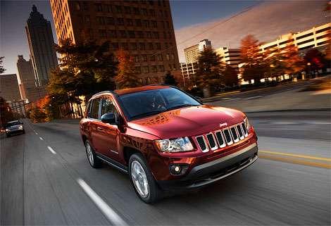 В России скоро начнутся продажи обновленного кроссовера Jeep Compass