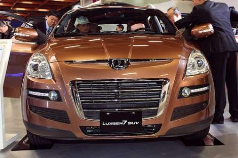 В Карачаево-Черкесии готовятся к выпуску кроссовера Luxgen SUV