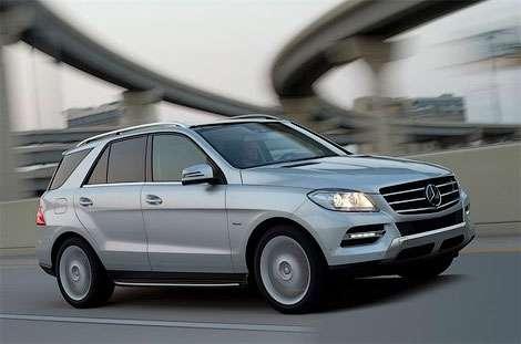 Внедорожный Mercedes-Benz M-Class нового поколения рассекретили досрочно
