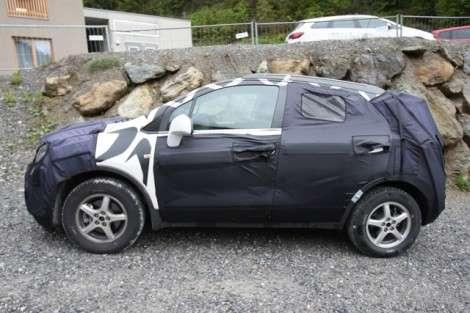 Внедорожная Opel Corsa: испытания продолжаются