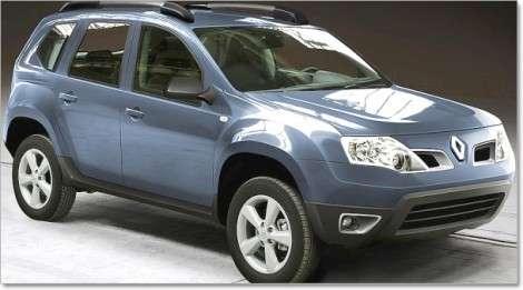 Renault презентовала Dacia Duster в Буэнос-Айресе