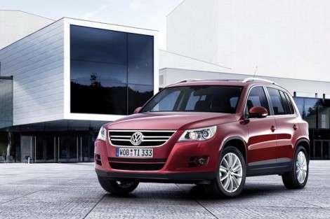 Концерн Volkswagen объявил российские цены на Tiguan