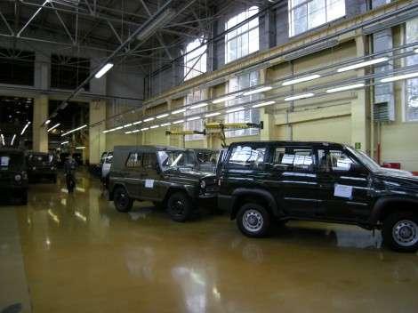 «УАЗ» начал выпуск внедорожников стандарта Евро-4