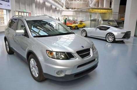 Saab, которого не было