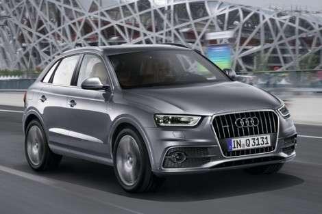 Audi «зарядит» кроссовер Q3