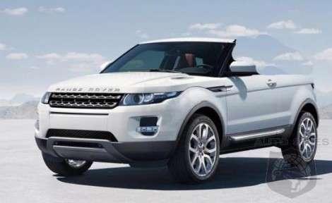 Range Rover Evoque – кроссовер и кабриолет