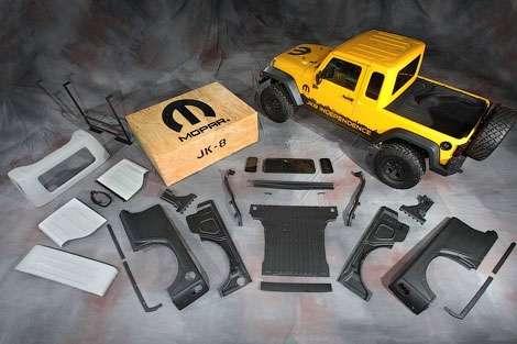 Jeep Wrangler превращается в пикап
