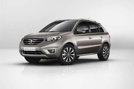 Обновленный Renault Koleos поступит в продажу осенью