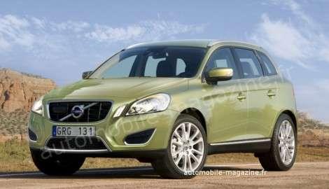 Новые сведения о новом кроссовере Volvo