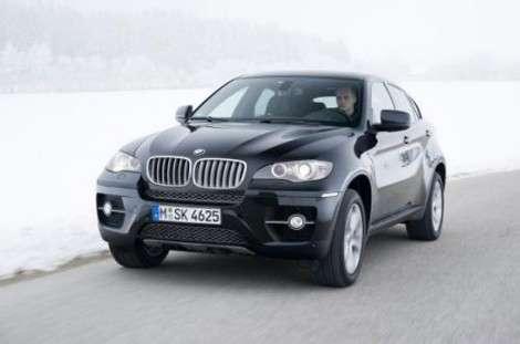 Кроссовер BMW X6 получил модификацию xDrive50d