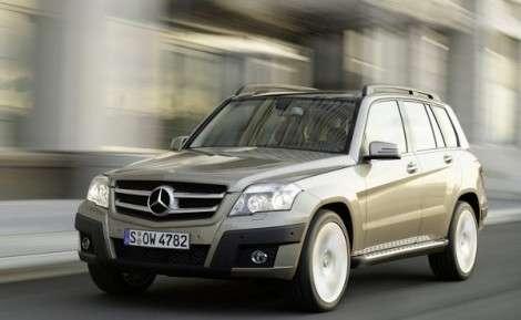 Mercedes-Benz хочет осовременить кроссовер GLK