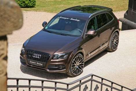 Audi Q5 «довели» до 213 «лошадей»