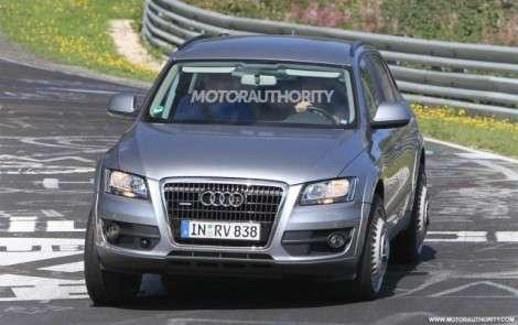 Audi приступила к испытанию Q6