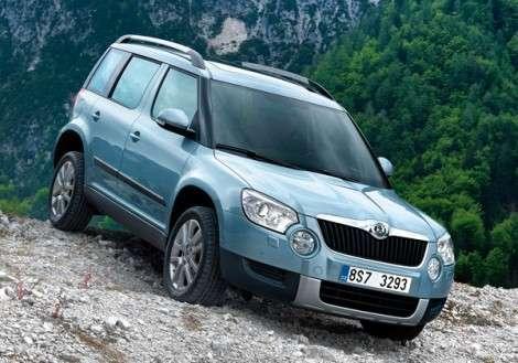 В ноябре «ГАЗ» начнет собирать Skoda Yeti