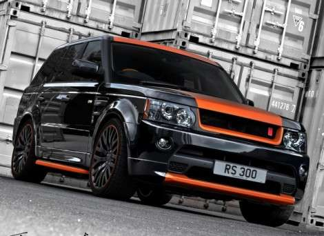 Тюнинг-ателье Kahn Design превратит Range Rover Sport в «Везувий»