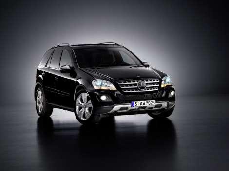 Mercedes-Benz отзывает внедорожный ML-Class